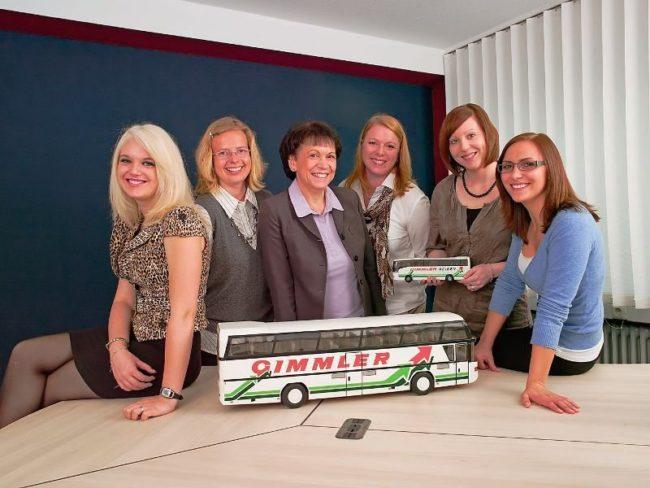Julia Pfeffer, Katja Hild, Heidemarie Kempa, Tanja Volk, Sarah Klein, Natalia Greb