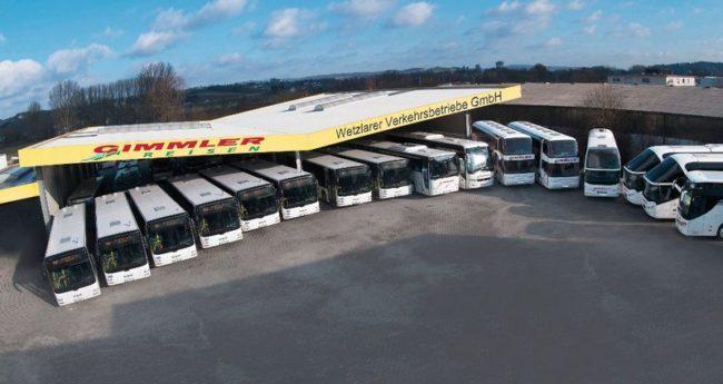 Neuanschaffungen der Wetzlarer Verkehrsbetriebe und Gimmler Reisen