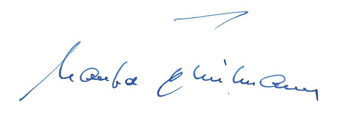 Unterschrift M. Thielmann